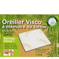 OREILLER VISCO 60 x 60 cm A MEMOIRE DE FORME