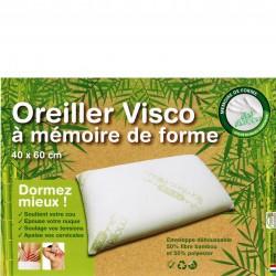 OREILLER VISCO 40x 60 cm A MEMOIRE DE FORME