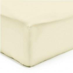 Drap Housse Maxi Jersey COQUILLE Coton Bonnet de 35 cm 160 x 200 cm