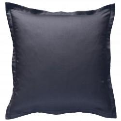 Taie d oreiller à volants 65 x 65 cm GRIS ANTHRACITE Percale de Coton