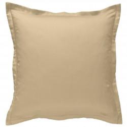 Taie d oreiller à volants 65 x 65 cm MOKA Percale de Coton