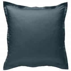 Taie d oreiller à volants 65 x 65 cm LAGON Percale de Coton