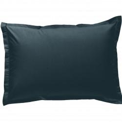 Taie d oreiller à volants  50x70 cm LAGON Percale de Coton