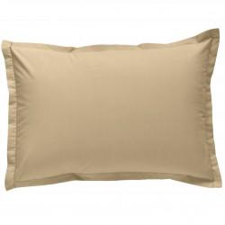 Taie d oreiller à volants 50x70 cm MOKA Percale de Coton