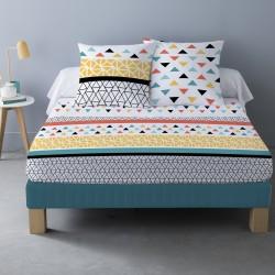 Parure de draps LOU pour lit de 140x190 cm 4 PIECES
