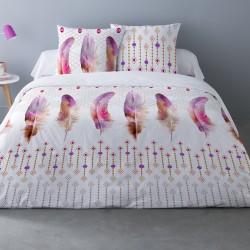 Parure de draps PLUM pour lit de 140x190 cm 4 PIECES