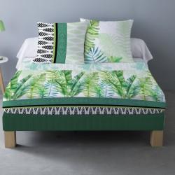 Parure de draps TIMOR pour lit de 140x190 cm 4 PIECES
