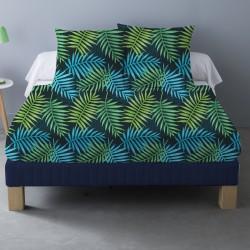 Parure de draps DAGO pour lit de 140x190 cm 4 PIECES