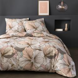 Parure de draps 270 x 300 cm 3 PIECES LAURIA Percale de Coton