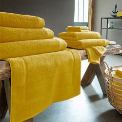 Lot de 2 Gants de toilette 16x21 cm 600 gr SAFRAN Coton  Peigné