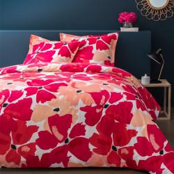 Parure de draps 240 x 300 cm 3 PIECES NAHOMIE 100% Coton Traditionnel