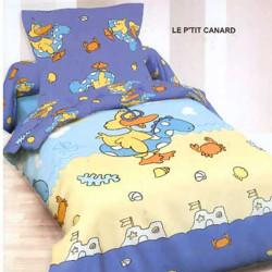 Housse de couette 140x200+1 Taie LE PTIT CANARD