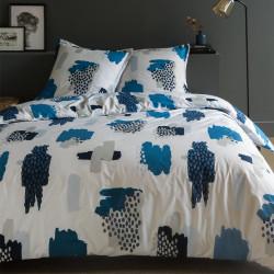 Parure de draps 270 x 300 cm 3 PIECES TALY Percale de Coton