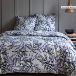 Parure de draps 240 x 300 cm 3 PIECES LAVANDE 100% Coton Traditionnel