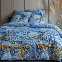 Parure de draps 240 x 300 cm 3 PIECES JONQUILLE 100% Coton Traditionnel