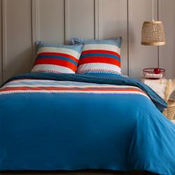 Parure de draps 240 x 300 cm 3 PIECES COQUELICOT 100% Coton Traditionnel