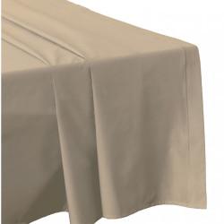 DRAP PLAT 270 x 300 FICELLE Véritable Percale de coton 80 fils