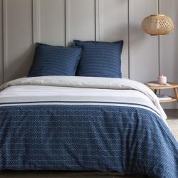 Parure de draps 240 x 300 cm 3 PIECES ORCHIDEE 100% Coton Traditionnel